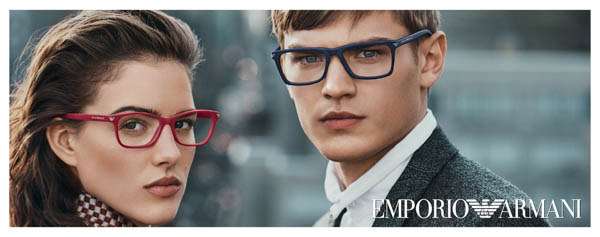 Emporio Armani 2016 Eyewear - the elegance in the winter